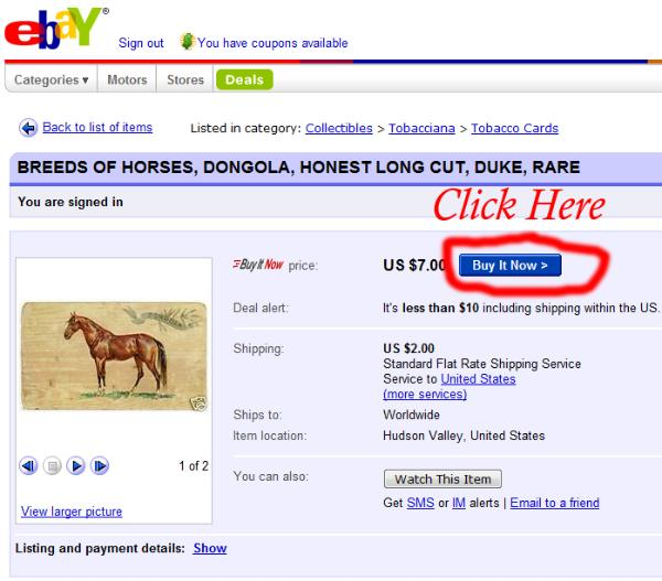 Ebay Buy It Now Tutorial